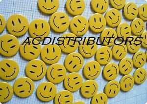 Smiley Face Badges Button Pins15 Pack Small Happy Smiley Badges