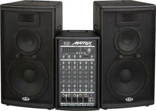 b52 matrix pro audio equipment ebay. Black Bedroom Furniture Sets. Home Design Ideas