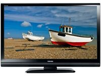 "Toshiba Regza 32"" Widescreen HD LCD TV With Remote & Built-In Freeview"
