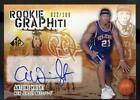 Signature Rookies Basketball Trading Cards