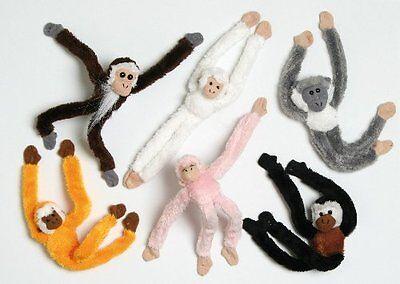 15cm Magnetic Sloth Soft Toy / Decoration - 1 Supplied At Random (HL46)