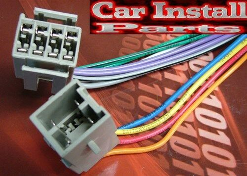 Ford Radio Wire Harness Install Stereo Plug 1982