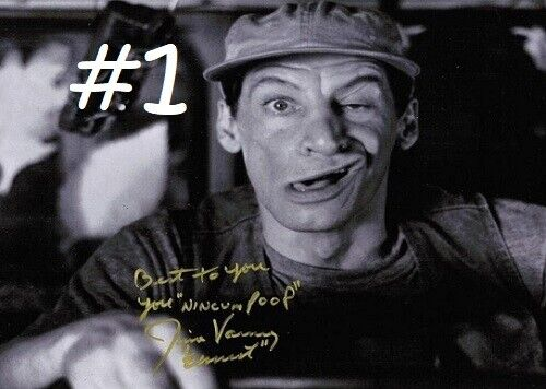 Jim Varney 5x7 Signed Autograph Reprint [Choose 1 of 2 Photos} FREE SHIPPING