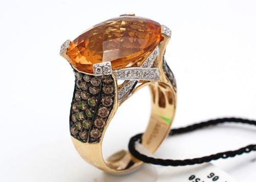 Levian Citrine Ring Ebay
