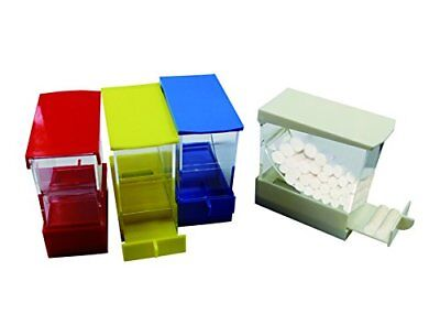 Dental Cotton Roll Dispenser Holder Storage Organizer Box Pull-out Type 4 Colors