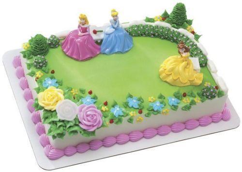 disney princess cake decorations - Cake Decorations
