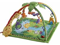 Fisher Price Rain Forest Play Mat Play Gym