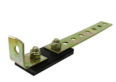 E-Tech Steel Exhaust Backbox Mount Bracket Hook With Rubber Knuckle Joint #HR009