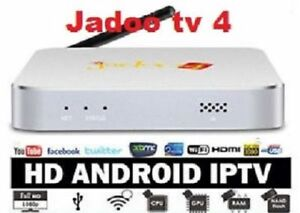 JADOO TV 4, Quad Core Latest Version No Monthly Payment