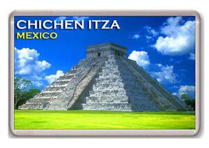 CHICHEN-ITZA-MEXICO-FRIDGE-MAGNET-SOUVENIR-IMAN-NEVERA