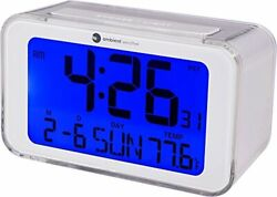atomic Ambient Weather RC-8320  Digital Alarm Clock with Radio Controlled Time