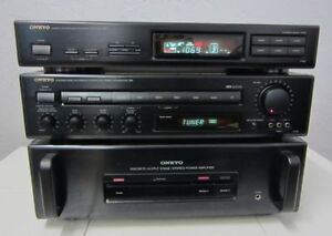 Onkyo Amp, PreAmp, Tuner