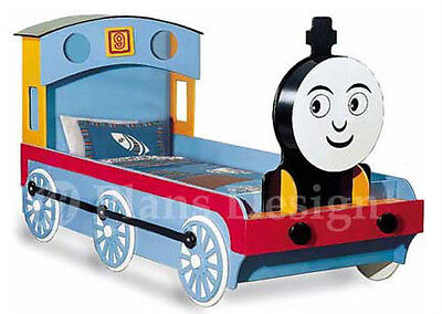 Thomas Train Engine Twin Bed Woodworking Project Plans, Do It Yourself