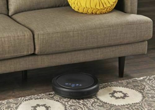 Alcove QQ6 Robotic Vacuum Cleaner with Wi-Fi - Black
