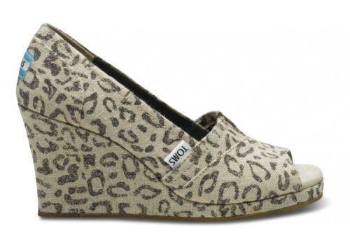 c4cee9aeed2f Toms Leopard Wedges  Women s Shoes