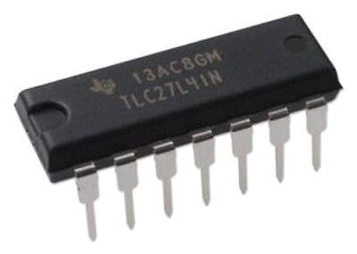 1pcs Texas Instruments Tlc27l4in Tlc27l4 Quad Precision Upower Op Amp New Ic
