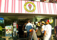 PT/FT Employees Wanted for Marble Slab Creamery Denman Street