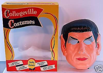 STAR TREK - MR. SPOCK HALLOWEEN COSTUME 1967 RARE  MIB - Mr Spock Halloween Costume