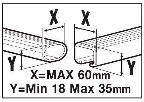 Dachbox 320 Liter abschließbar schwarz VDP-MAA320
