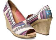 Toms Shoes 7 Wedge