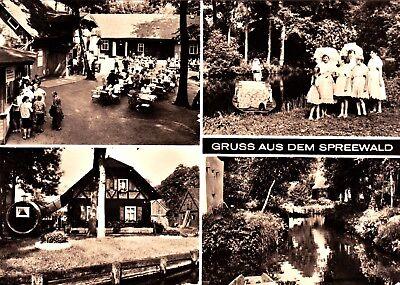 Gruss aus dem Spreewald  , DDR , Ansichtskarte