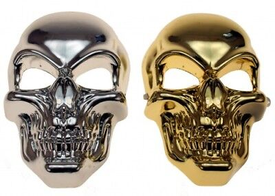 Totenkopfmaske Totenkopf Maske Schädel Skelett Halloween Karneval (Skelett Maske Kostüm)