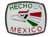 Hecho En Mexico Belt Buckle