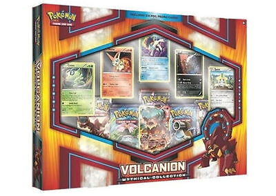 Pokemon Mythical Collection Volcanion Box 5 packs 7 promo cards new