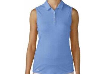 Adidas Mujer Climalite Essentials Polo (S) Azul B83796