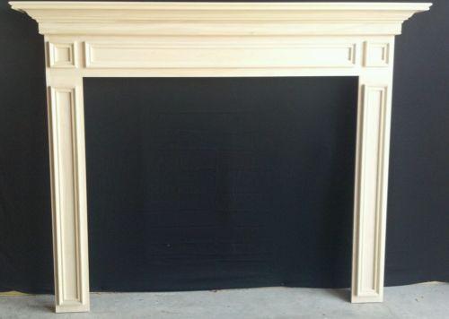 - Wood Fireplace Mantel EBay