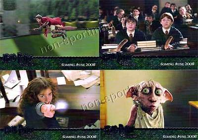 HARRY POTTER CHAMBER OF SECRETS SET OF 90 CARDS