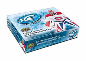 2017-18 Upper Deck Ice Hockey Boxes Available @ Breakaway