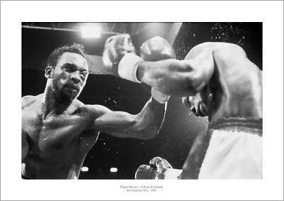 Nigel Benn v Chris Eubank 1990 Boxing Photo Memorabilia