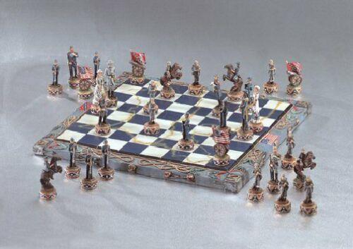 American Civil War Chess Set - NIB