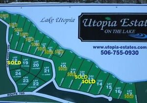 Lots for Sale - Lake Utopia