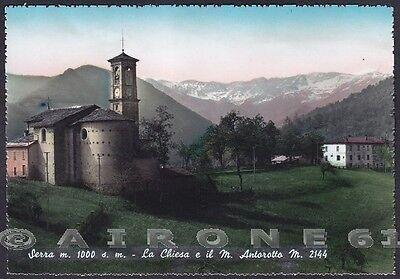 CUNEO PAMPARATO 10 SERRA - MONTE ANTOROTO Cartolina (Serra Monte)