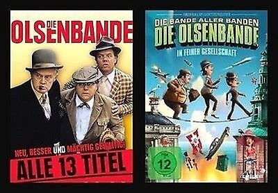 DIE OLSENBANDE Teile 1-13 + Bonus DEFA SYNCHRO Remastered 14 DVD Collection NEU online kaufen
