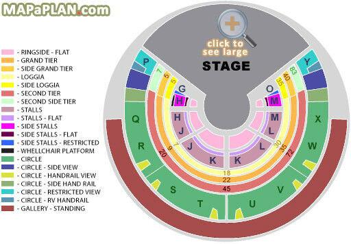 2 X Ringside Centre Tickets Royal Albert Hall Cirque Du