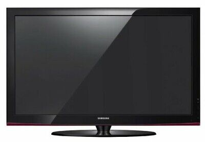 Televisione Samsung, 52 pollici, plasma, colore nero, supporto parete.