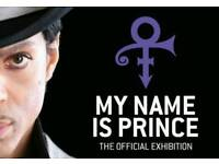My Name Is Prince O2 London Exhibition Tickets Saturday 6th January 2018