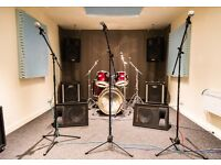 Rehearsal slot available in Dalmarnock