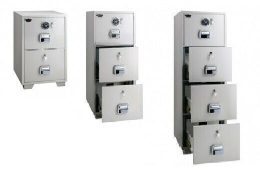 Fireproof File Cabinet & Cupboards, Combination Dials & Keylock Safes
