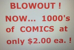 4500 COMIC BOOKS for SALE !