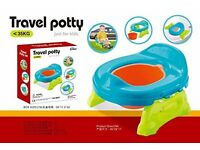 kidoloop 2 in one travel potty plus toilet training Just for Kids