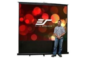 Elite Screens Reflexion 100in. - 4 3 - Manual Projection Screen