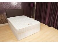 Double Bed. Brand New in Factory Wrapping. Dreamers Candy Orthopaedic Divan Bed. Base and Mattress