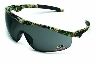 Crews Storm Safety Glasses with Mossy Oak Frame and Gray Lens ANSI Z87