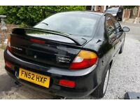 Chrysler Neon RT, Low Milage, Full Leather Interior