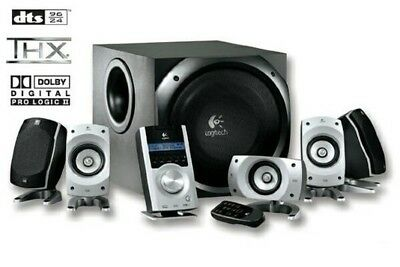 Logitech Z-5500 505 Watt THX-Certified 5.1 Digital Surround Sound Speaker System