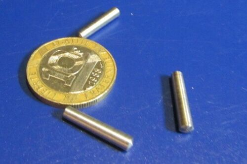 Metric Steel Taper Pins 3.3. mm Large End x 3 mm Small End x 16 mm Long, 50 Pcs